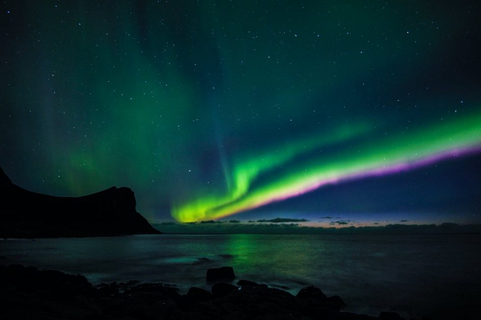 northern lights during starry nights